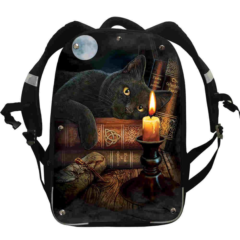 Mochila The Witching Hour FNAF UT Wolf Animal para mujeres, hombres, niñas, adolescentes, mochilas escolares, caja de almuerzo, estuche para lápices