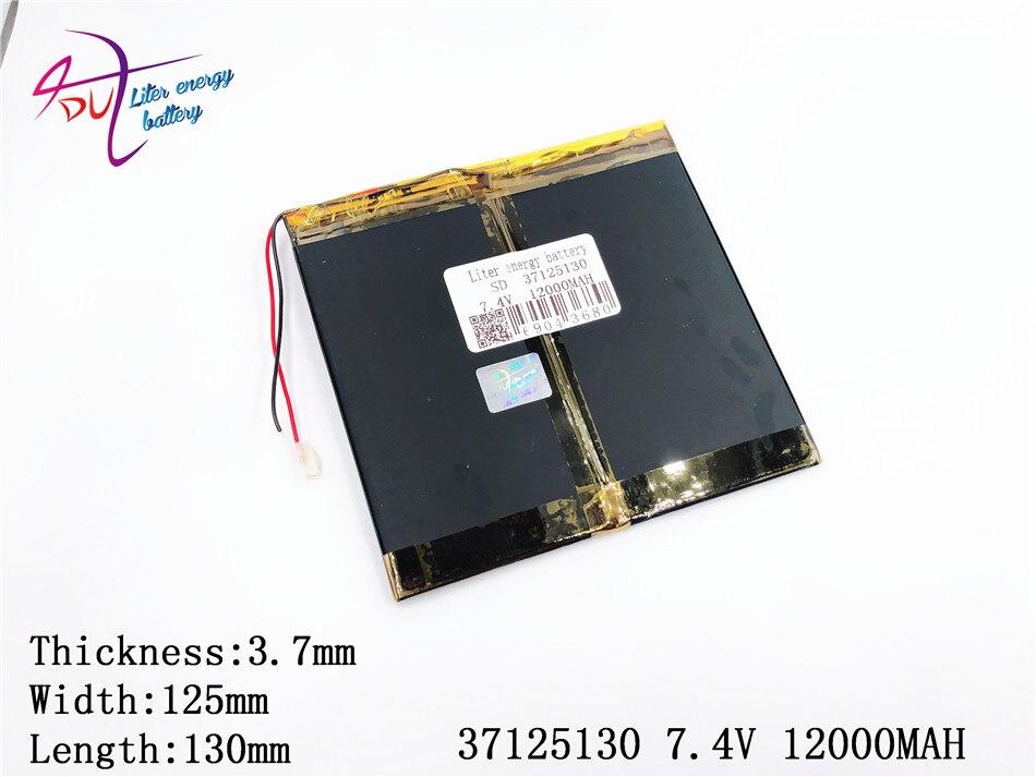 Liter energie batterie 37125130 7,4 V 12000 mAH 35125130 Li-Ion batterie für M6, M6Pro, M6Pro 3G, freelander PD800 Tablet PC