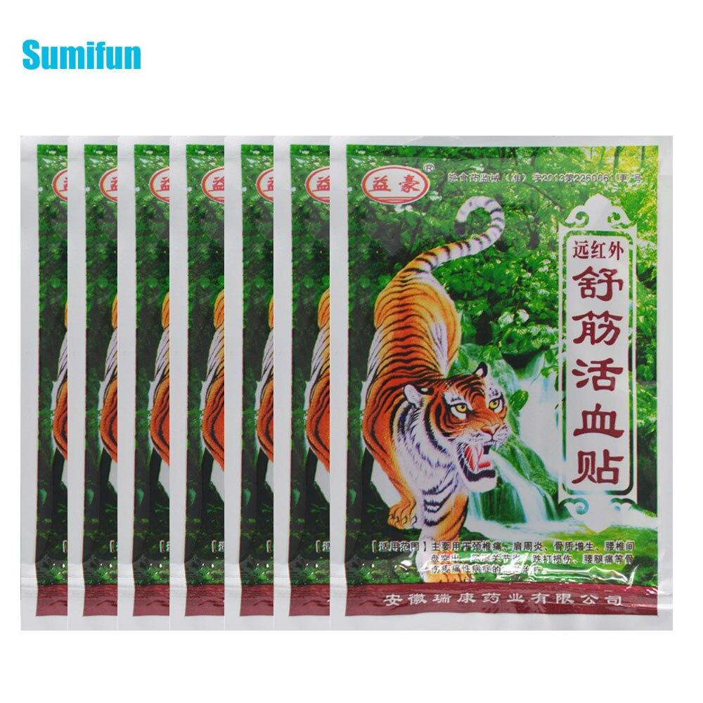 56 pçs bálsamo de tigre médica gesso articulações ortopédicas artrite remendo dor muscular ombro duro espondilose cuidados de saúde c204