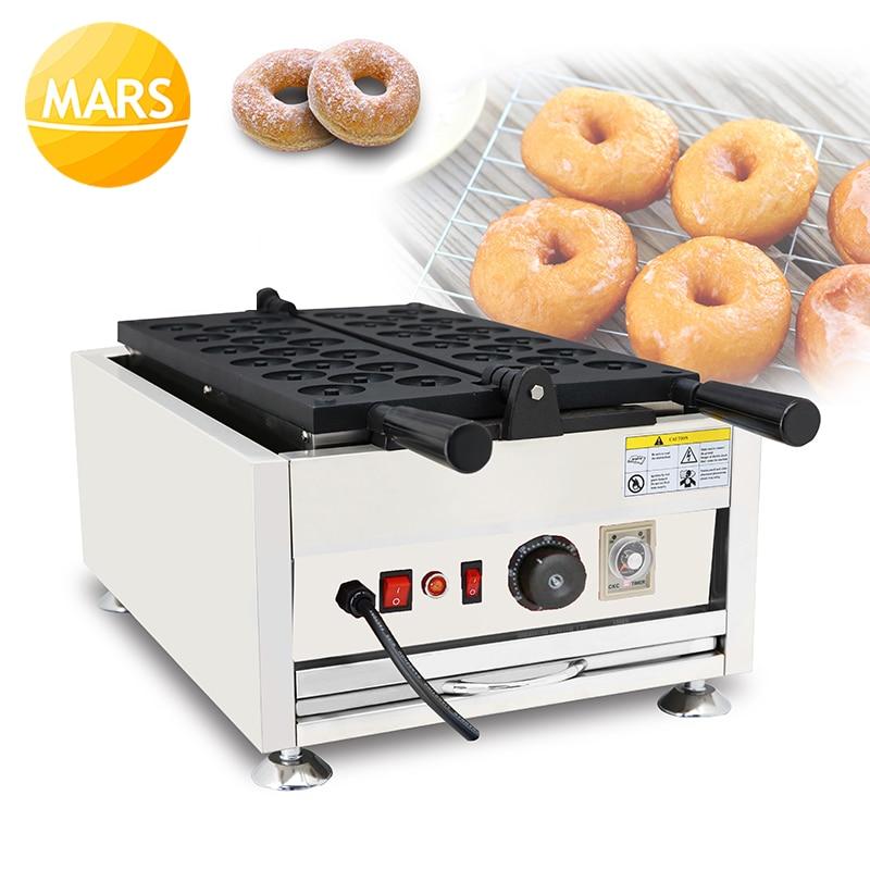 Mars-ماكينة صنع الكعك الصغيرة ، 220 فولت ، 110 فولت ، للاستخدام التجاري ، قالب حديد للخبز ، معدات المطبخ
