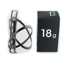 Porte-bidon carbone léger Edelhelfer vélo cyclisme 18g porte-bouteille carbone vtt LW porte-bidon en fiber de carbone