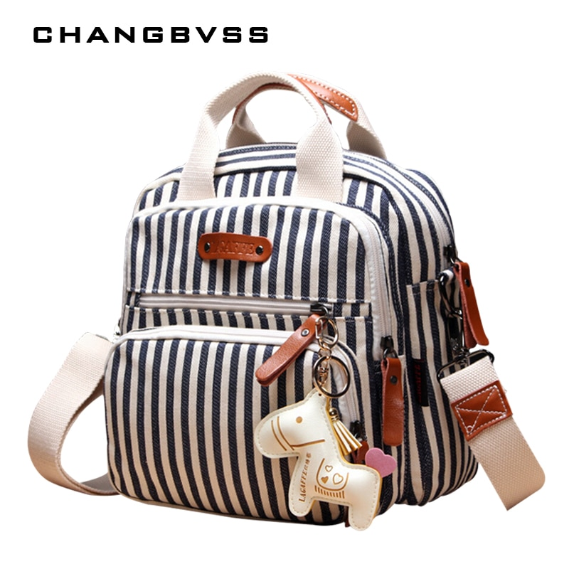 Многофункциональный модный рюкзак для подгузников для мамы, новый мультяшный декоративный рюкзак для мамы с лошадью для мамы, высококачест...