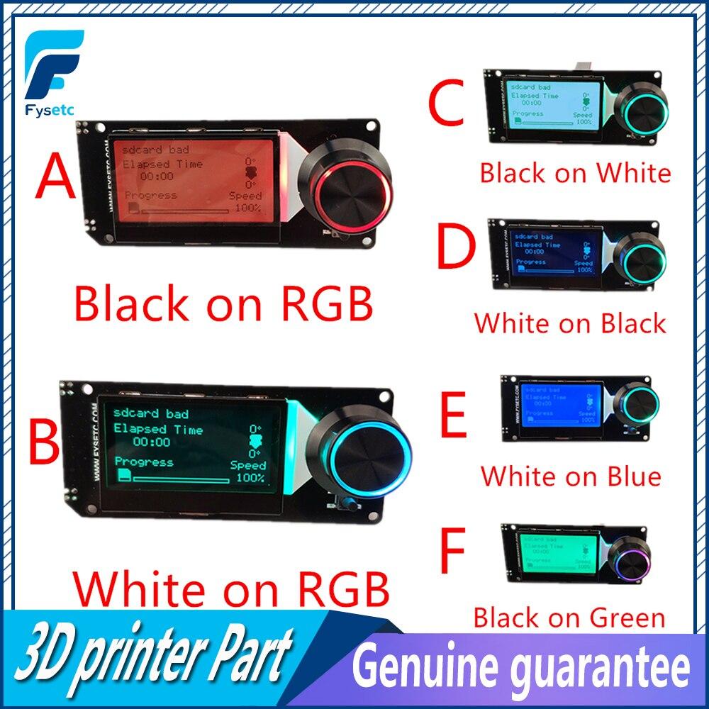 MINI12864 ЖК-дисплей мини 12864 смарт-дисплей 128x64 5V Поддержка Marlin DIY для SKR с sd-картой для деталей 3D принтера