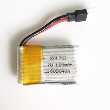 3.7V 20C 180mAh Lipo lithium polymer rechargeable Battery For X5 series Quadcopter Helicopters RC Dr