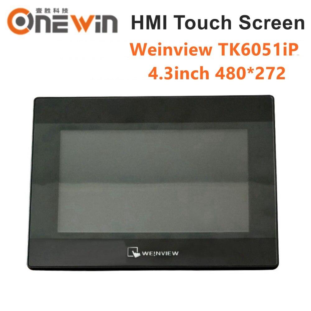 WEINVIEW/WEINTEK TK6051iP HMI pantalla táctil 4,3 pulgadas 480*272 reemplazar TK6050iP nueva interfaz de máquina humana