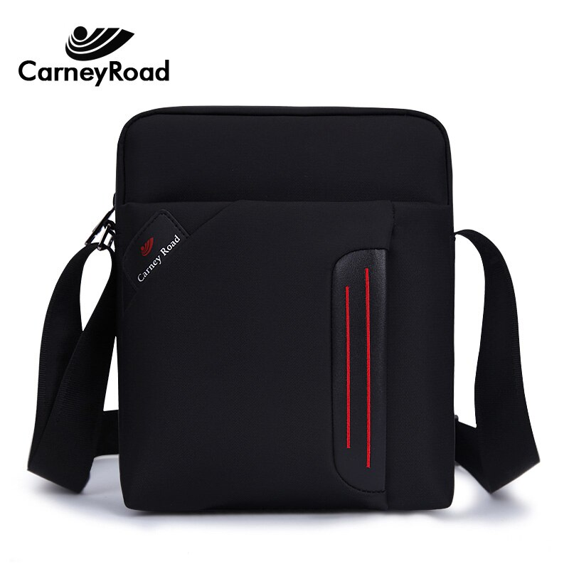 Carneyroad, bolso de hombro de alta calidad para hombre, bolso impermeable para Ipad, bolsos de mensajero informales para hombre