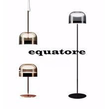 Lámpara de cristal semicircular de electrochapado de serie ecuatorial creativa minimalista nórdica, lámpara de pie con chip de LED decorativo