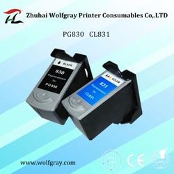 LE YI CAI 2 PCS Substituição Do cartucho de tinta compatível para Canon PG830 CL831 830XL mp476 MX308 MX318 mp228 ip1180