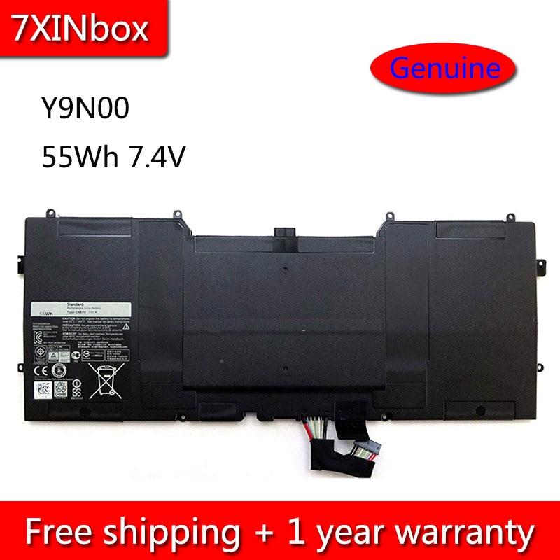 7XINbox 55Wh 7.4V PKH18 C4K9V Y9N00 489XN Laptop Battery For Dell XPS 12 13 9Q33 9333 L221x 13-L322X 12D-1708 Notebook