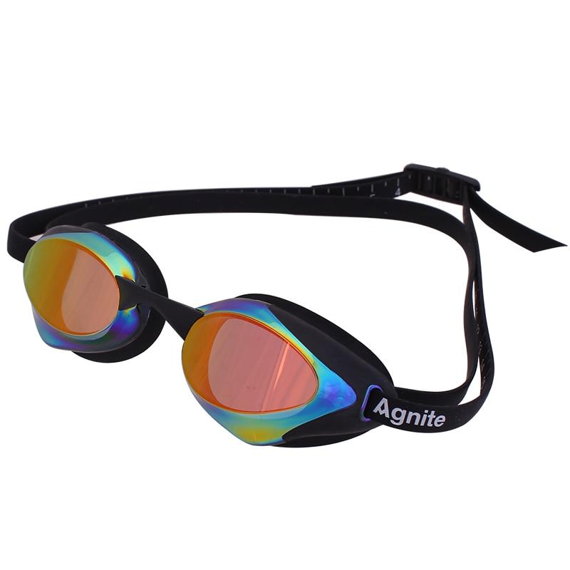 Gafas de natación Agnite Arena an-fog UV Swim Eyewea hombres mujeres gafas resistentes al agua para nadar