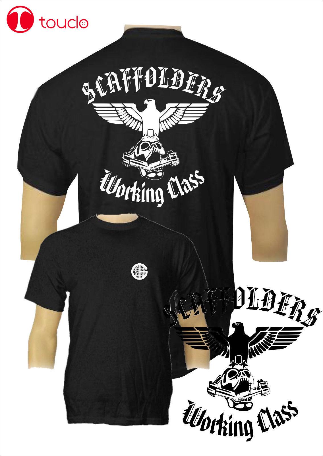 2 lados 2019 algodón camiseta Gerustbauer andamios camiseta Crafts Guild Rusterdachdecker clase de trabajo suéter
