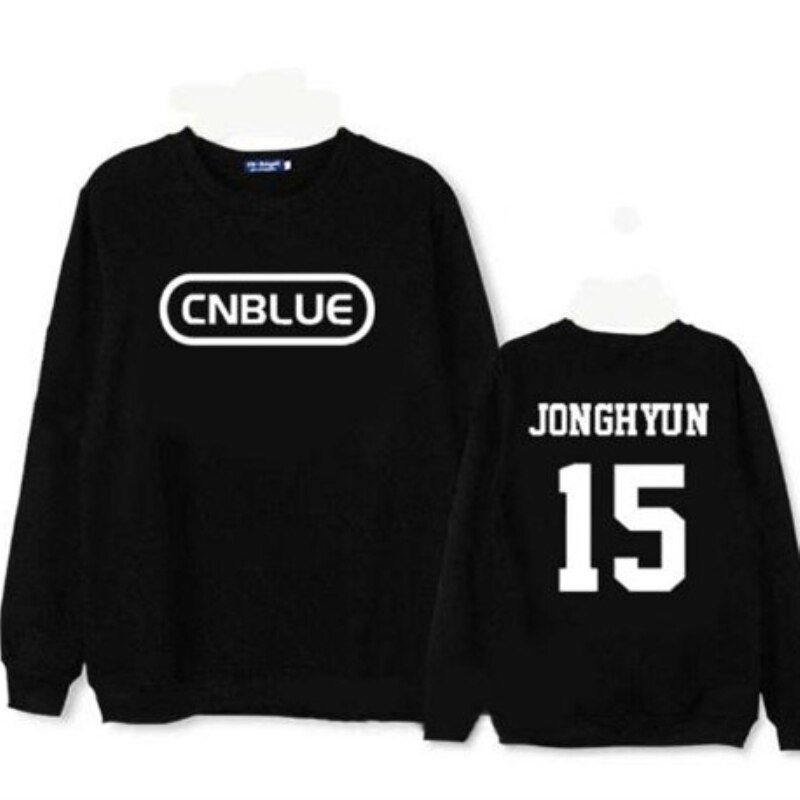 Mainlead Kpop CNBLUE Marchandises sweatshirt à capuche unisexe JungShin Pull Pull YongHwa