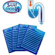 12/set Sani Sticks Oil Decontamination The Kitchen Toilet Bathtub Drain Cleaner Sewer Cleaning Rod C