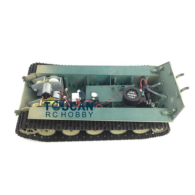 HengLong 1/16 Skala König Tiger RC Tank 3888A Chassis W/ PlasticTracks Räder TH00387