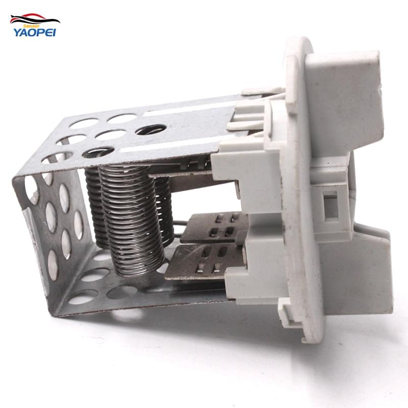 YAOPEI высокое качество 6436 81/6436. 81 умный чувство электродвигатель вентилятора подачи теплого воздуха резистор для Peugeot Citroen