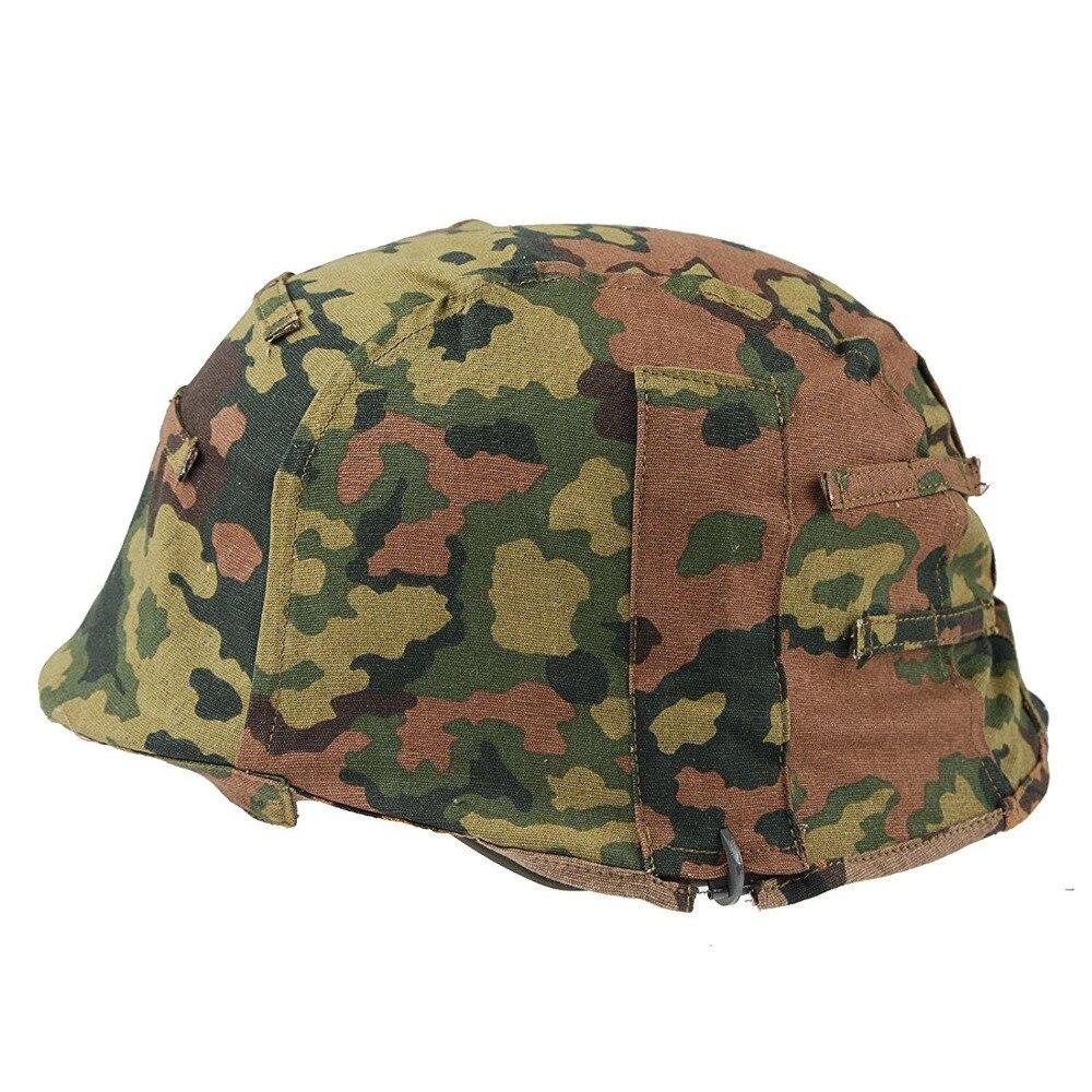 WWII alemán M35 cubierta REVERSIBLE para casco COLOR primavera y otoño roble CAMO-tienda militar mundial