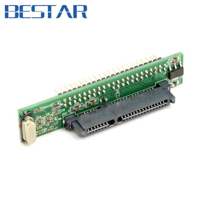 "Adaptador de SATA hembra a IDE 44Pin ide SATA convertidor adaptador IDE PCBA para ordenador portátil y disco duro de 2,5"""