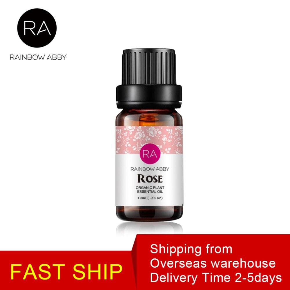 Aceite Esencial de Rosa puro Natural Aceite de Masaje mejora la sequedad de la piel blanqueamiento Anti-envejecimiento aceite esencial aromático hembra favoritos