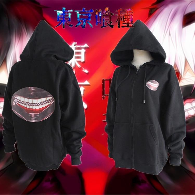 kaneki ken Top Cos Anime Tokyo Ghoul Halloween Party Cosplay Man Woman Cosplay Costume Cartoon sweater