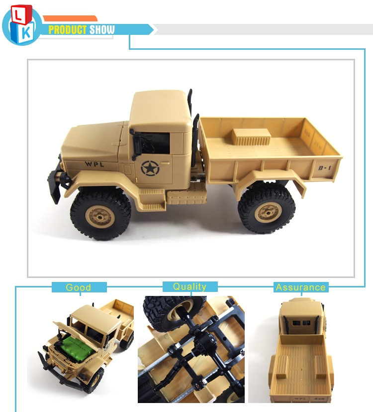 New 4 channel Four-wheel Drive Cross Country Truck rc Military Vehicles Remote Control Car Radio Control Toy rc Drift Truck enlarge