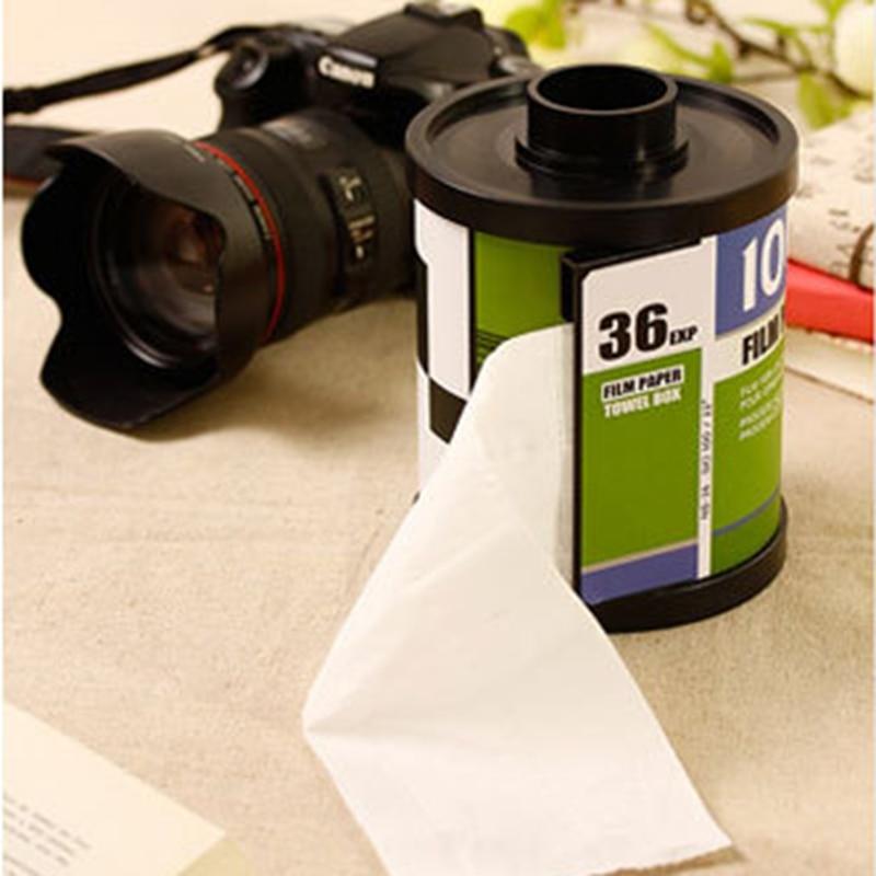 Tissue boxes roll paper holder creative magazine shape plastic standing tissue box magic sticker handing toilet paper holder