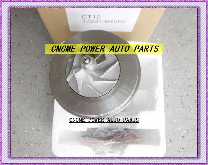 TURBO CHRA Cartucho Turbocharger Núcleo CT12 17201-64050 17201 64050 1720164050 Para TOYOTA Cidade Ace LiteAce TownAce 2CT 2C-T 2.0L