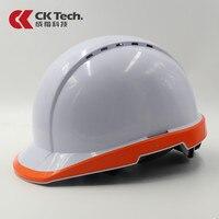 CK Tech.Safety Helmet Work Cap Fluorescent Hard Hat Construction Protective Helmets Breathable Labor Engineering Rescue Helmet