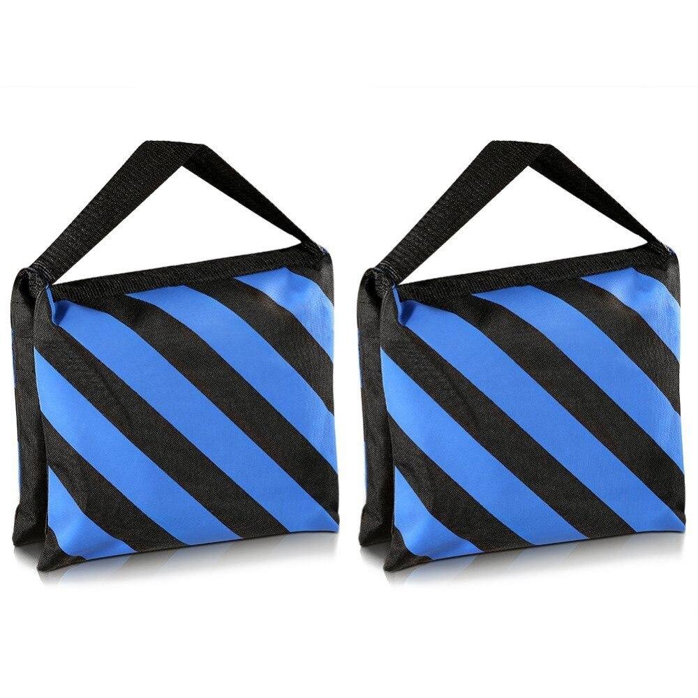 1 Uds bolso de arena fotográfico resistente para estudio de vídeo arena bolsa para soportes de luz/soporte Boom/trípode de fotografía estudio