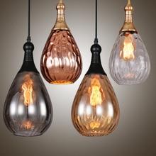 Nordic Restaurant Chandeliers 110-240v Pendant Lamp Simple Glass Shade 30-40W E27 Light Source Living Room Dining Chandelier