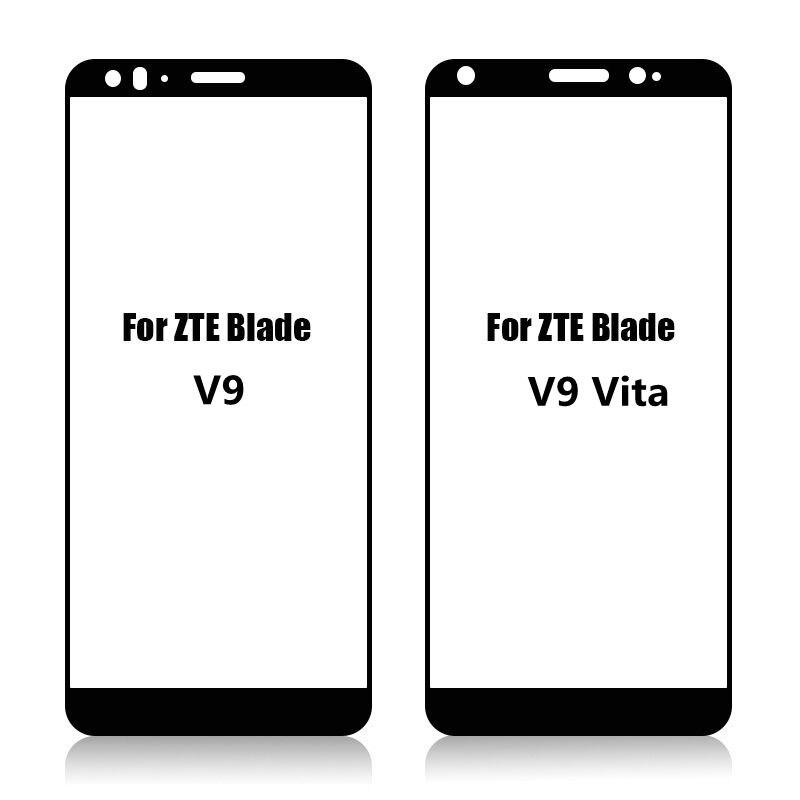 3D Tempered Glass For ZTE Blade V9 V 9 Full screen Cover Screen Protector Film For ZTE Blade V9 Vita
