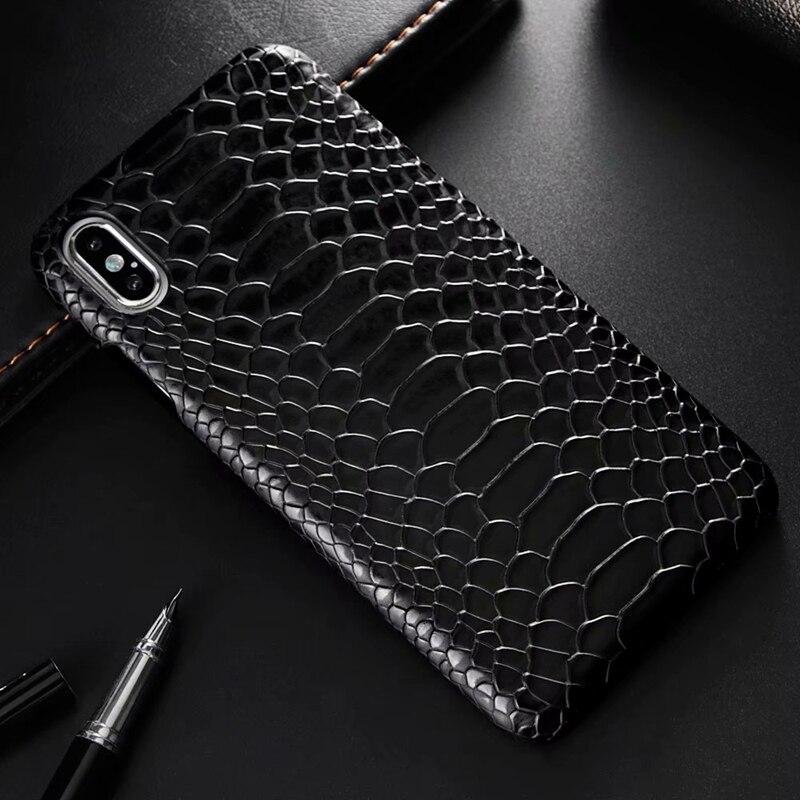 Capa de telefone de couro de cobra para iphone xs max x xs xr 8 7 plus capa de couro do plutônio para o iphone 11 11 pro 11 pro max caso