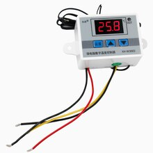 10pcs/lot Temperature Control W3002 Switch Sensor with probe 220v 12V 24V Thermostat Controller -50 ~ 110C  40%off