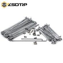 ZSDTRP Kit de rayons de roues pour BMW   Pour BMW R12 R75 R72 M1 M72, moto avant et arrière, en acier inoxydable, 40 pièces