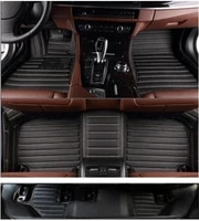 good quality custom special car floor mats trunk mat for toyota fortuner 2014 2009 7 seats waterproof carpets for fortuner