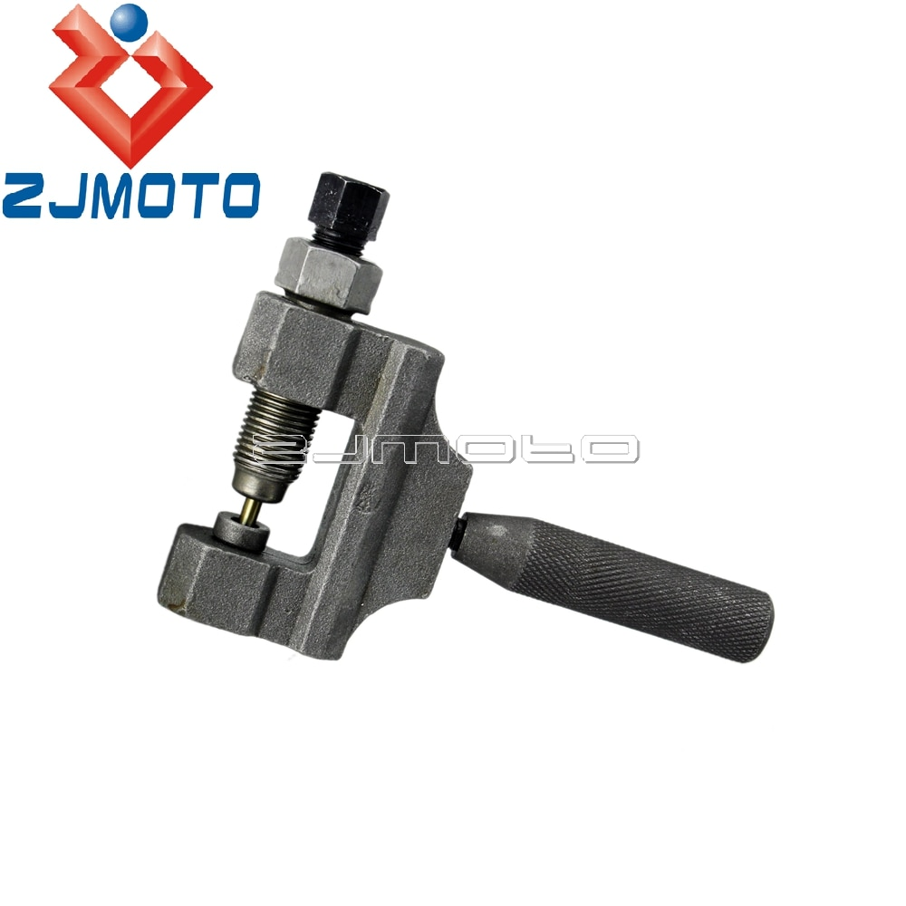 Motocykl motor ATV kosiarka łącznik łańcuchowy rozgałęźnik Pin szary Remover Repair Tool