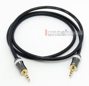 LN004311 3.5mm Pailiccs male to Male Car Aux Hifi speaker audio DIY Canare cable 1m