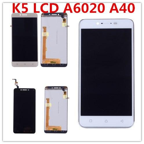 Für Lenovo K5 LCD Display Touch-Screen-Digitizer mit Rahmen für Lenovo Vibe K5 LCD A6020 A40