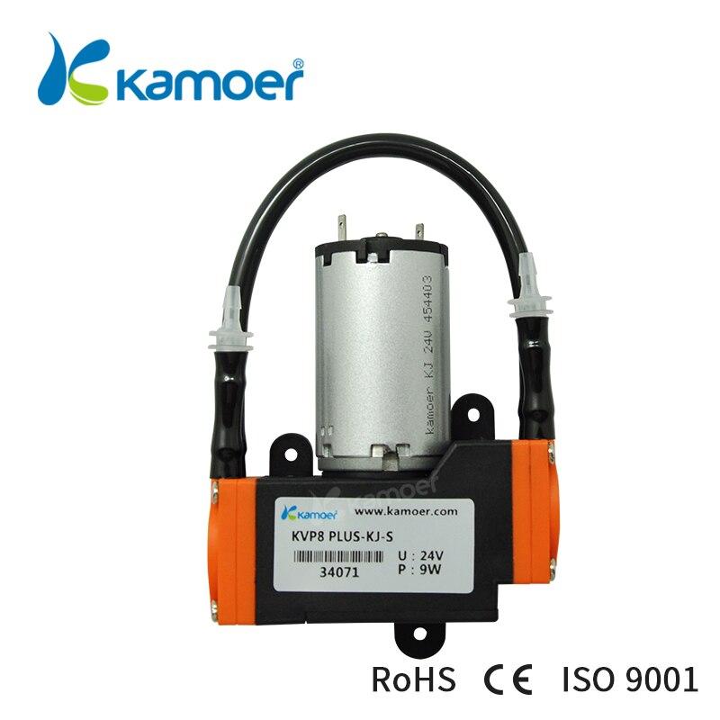 Kamoer KVP8 Plus 12/24 в мини мембранный вакуумный насос с мотором щетки постоянного тока, используемый для передачи газа
