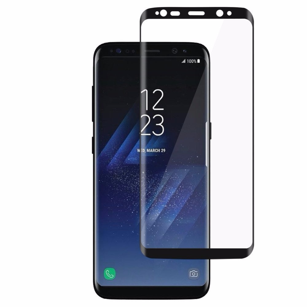 3D Tempered Glass For SAMSUNG note 9 8 film for S9 S9 Plus Case Friendly Screen Protector Film For G