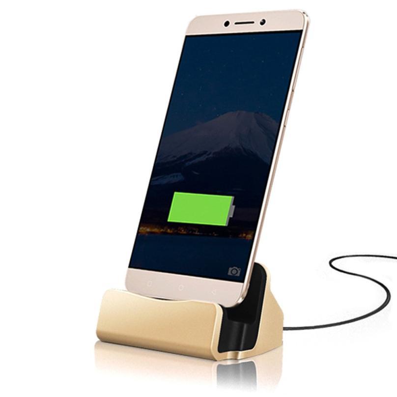 USB Type-C Charge Docking Station For Samsung Galaxy S8 Plus Huawei P9 P10 Xiaomi Mi 5 5c OnePlus 3 Google Nexus 6P/5X Dock