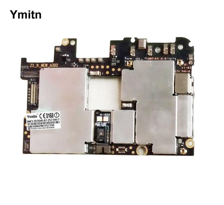 Ymitn Мобильная разблокированная электронная панель материнская плата гибкий кабель для Lenovo zuk z2 pro z2pro 6 + 128GB