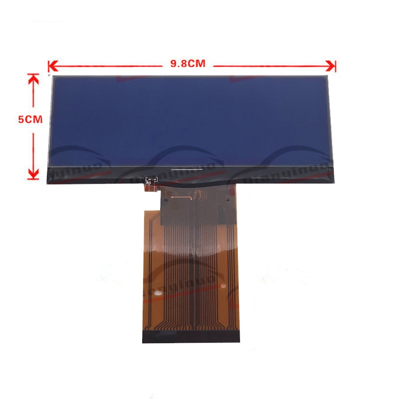 Tablero Qianyinuo, pantalla LCD para Mercedes Benz W203 Clase C, pantalla LCD, instrumento de reparación de clúster Pixel