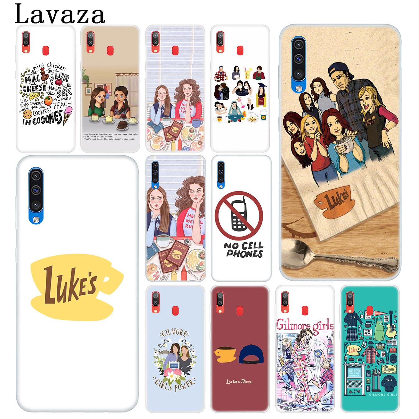 Funda rígida para teléfono móvil de Lavaza Gilmore Girls Life para Samsung Galaxy A10, A20, A30, A40, A50, A60, A70, M10, M20, M30, M40, A20e