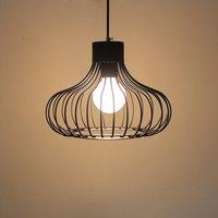 Modern Nordic Iron Cage Kid's Bedroom Pendant Lamps Bar Counter Dining room Hanging Lights Corridor Hallway Balcony Pendant Lamp