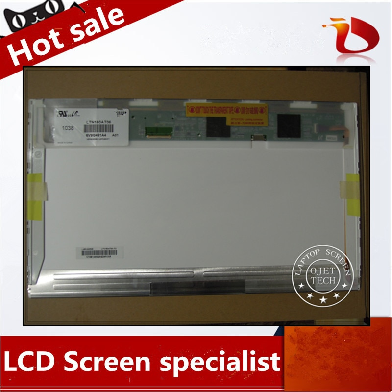 Gread A + HSD160PHW1 LTN160AT06 16 pulgadas led para ASUS N61 N61vg N61JV HP DV6 CQ61 K61IC portátil LCD matriz de pantalla LED