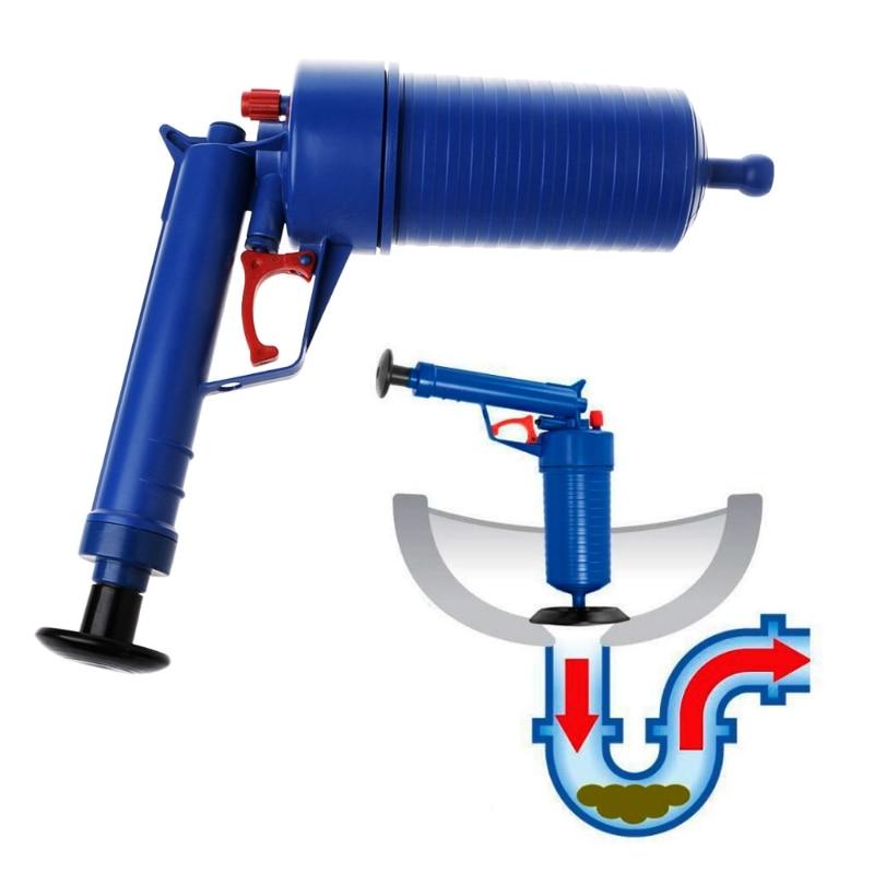 Air Pump Drain Blaster Sink Plunger Bath Toilet Pipe Unblocker Blockage Remover