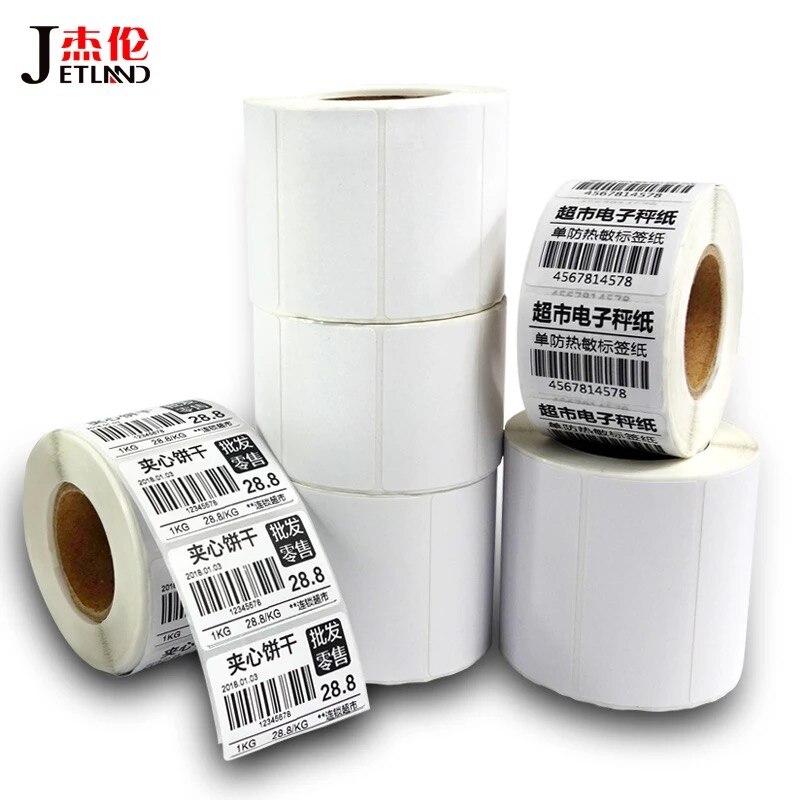 Термоэтикетка прямая сердечник 40 мм 1 упаковка (1 ~ 4R) ширина 20 100 термонаклейки в
