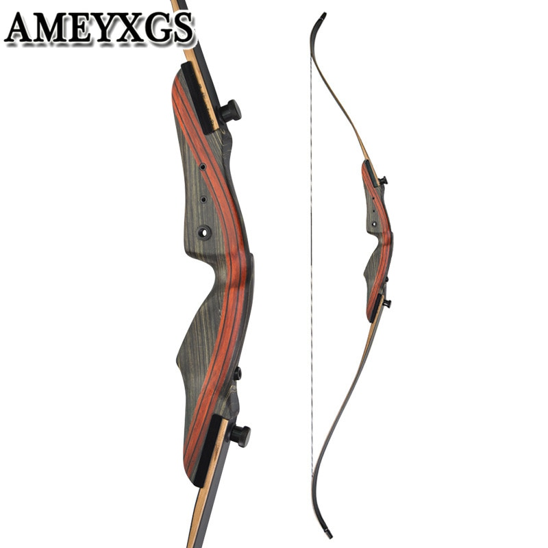 62inch 20-50lbs Archery Recurve Bow Draw weight Right Hand Takedown Bow For Outdoor Camping Game Hunting Shooting Accessories