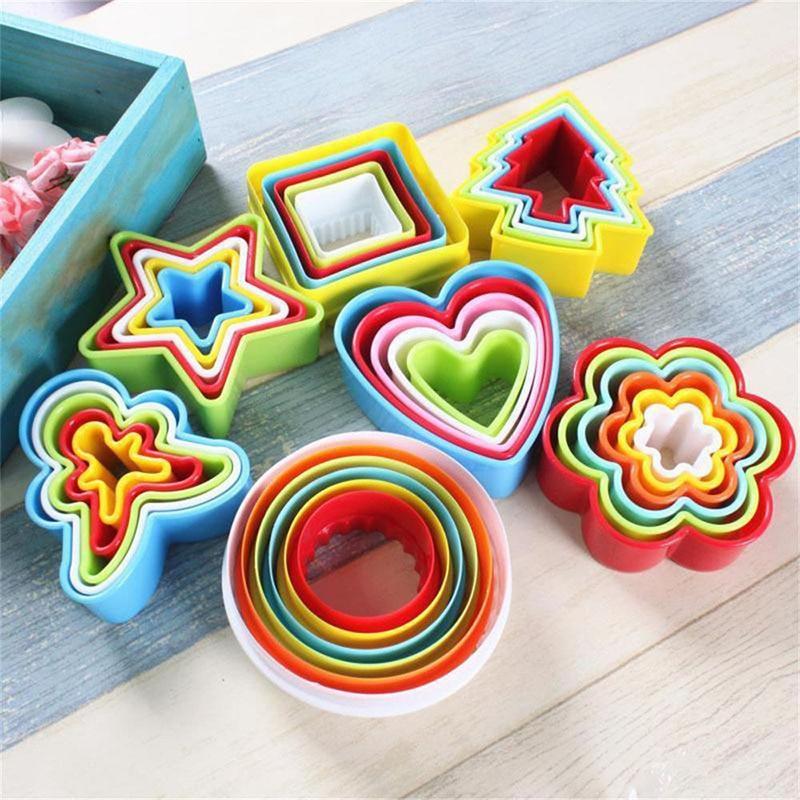 Coupe-biscuits moule à biscuits 5 pièces/6 pièces   Ensemble, moule à biscuits, Fondant gâteau, bricolage cuisine cuisine, outils de cuisson, moule à biscuits