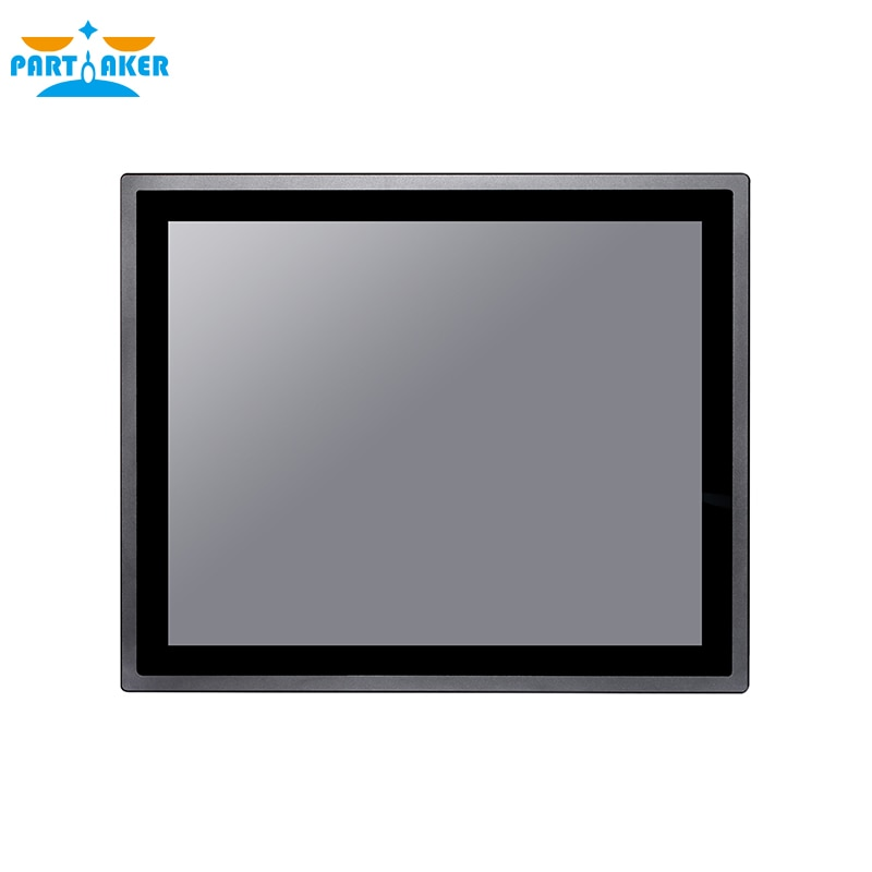 17 Inch IP65 Industrial Touch Panel PC All in One Computer 10 Points Capacitive TS Win7/10,Linux with Intel J1800 4G RAM 64G SSD